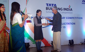 tata building india school essay competition 2011 winners Niti aayog- women transforming india  annual essay prize competition  general education department-higher secondary education-state higher secondary school.
