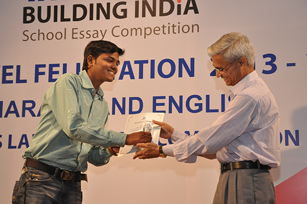 tata building india school essay competition 2012-13 Delhi public school in the school in an essay competition organized by tata building india adjudged the best out-going student of the school in 2012-13.
